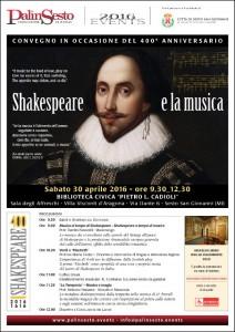 Shakespeare e la Musica - Poster