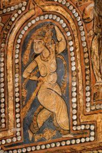 Ballerina con sciarpa - Cappella Palatina a Palermo
