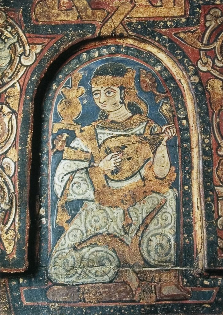 Liuto islamico in Europa - Cappella Palatina a Palermo