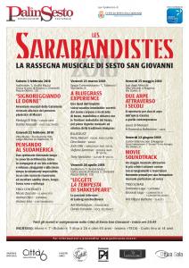 Poster Les Sarabandistes 2018