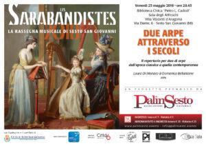 Due Arpe attraverso i secoli - Poster