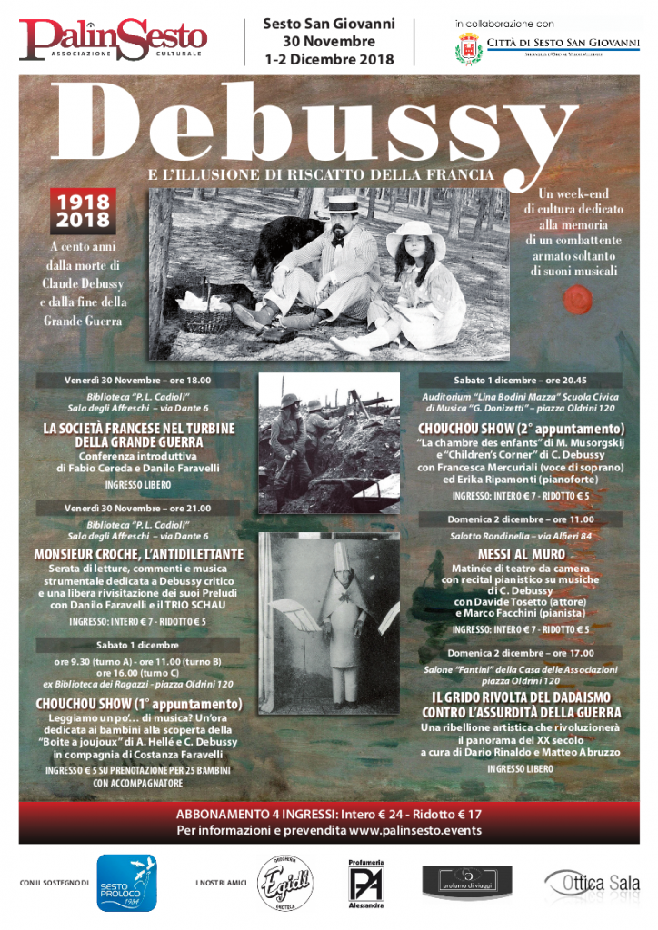 Festival Debussy Poster