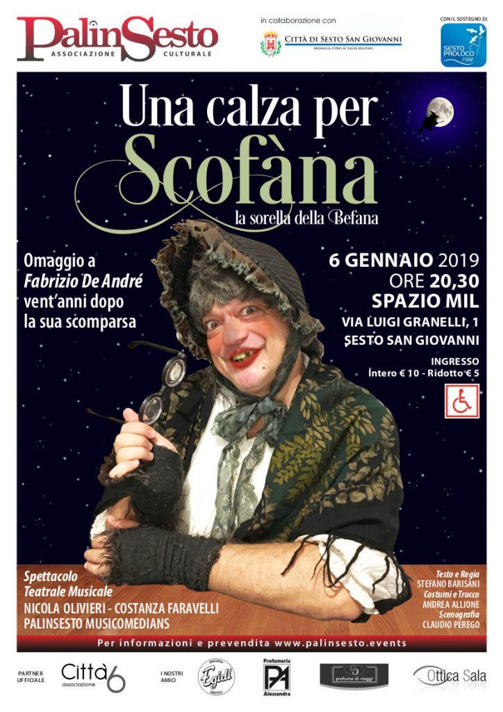 Poster Scofàna, la sorella della befana