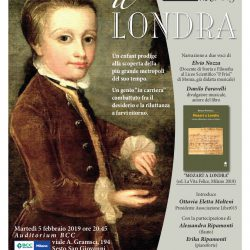 Poster Mozart a Londra