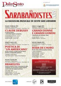 Poster Les Sarabandistes Stagione 2019