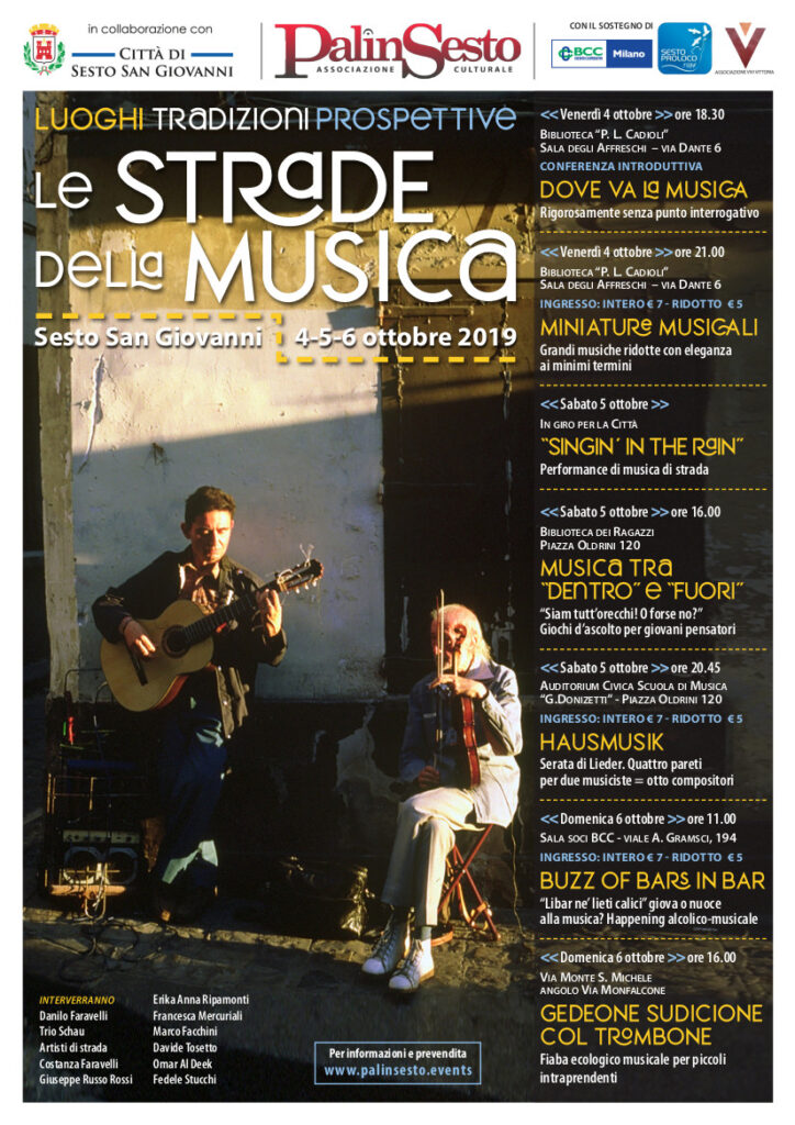Le Strade Della Musica Poster
