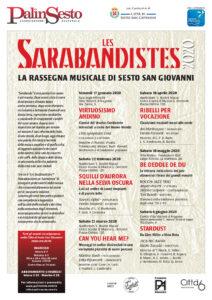 Les Sarabandistes poster stagione 2020 v3