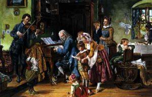 Johann Sebastia e Maria Barbara Bach