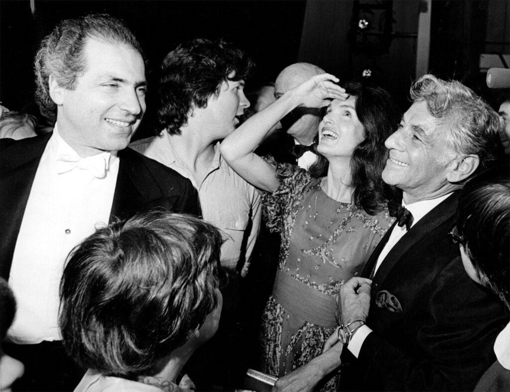 Leonard Bernstein e Jacqueline Kennedy Onassis