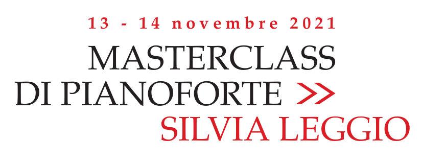Masterclass di pianoforte con Silvia Leggio