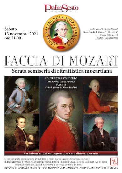 Faccia Di Mozart Poster