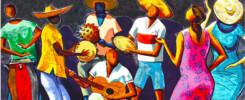Roda de Choro - Poster Cutted